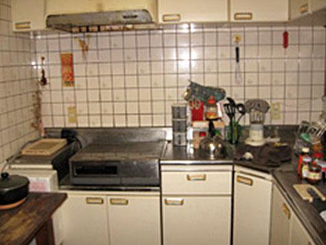 キッチンA(施工前)