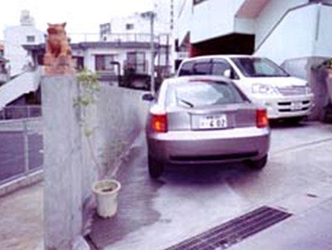 駐車場の増築A