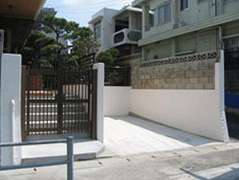 駐車場の改築A