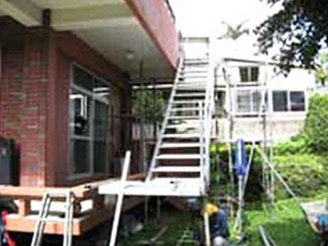 階段の増築A(施工前)